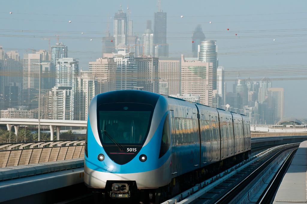 خط مترو دبي الأحمر 2020